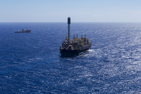 Photo: Petrobras Andre Ribiero vessel.